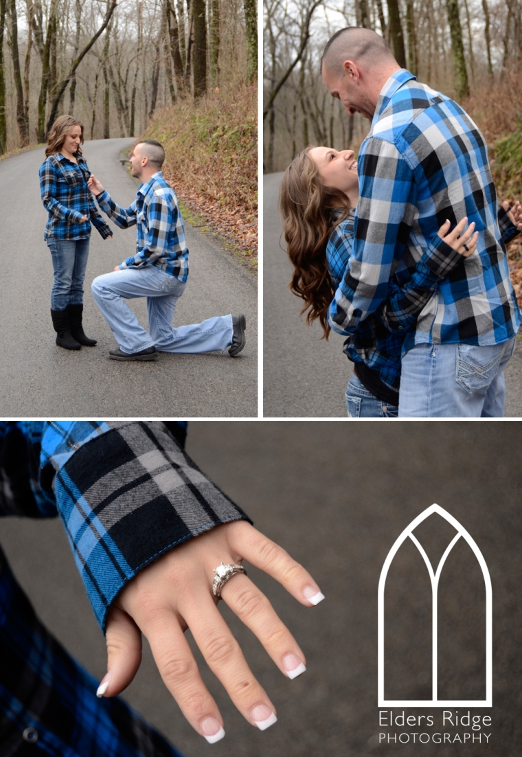 jb 1 engagement portraits