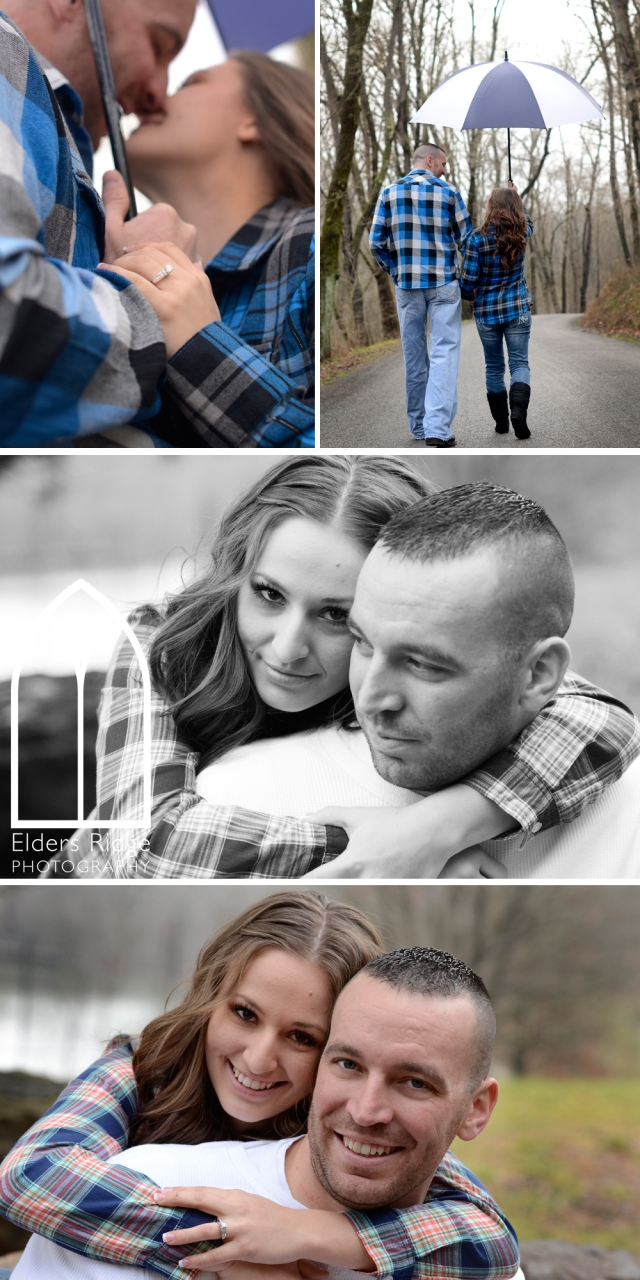 jb 2 engagement portraits