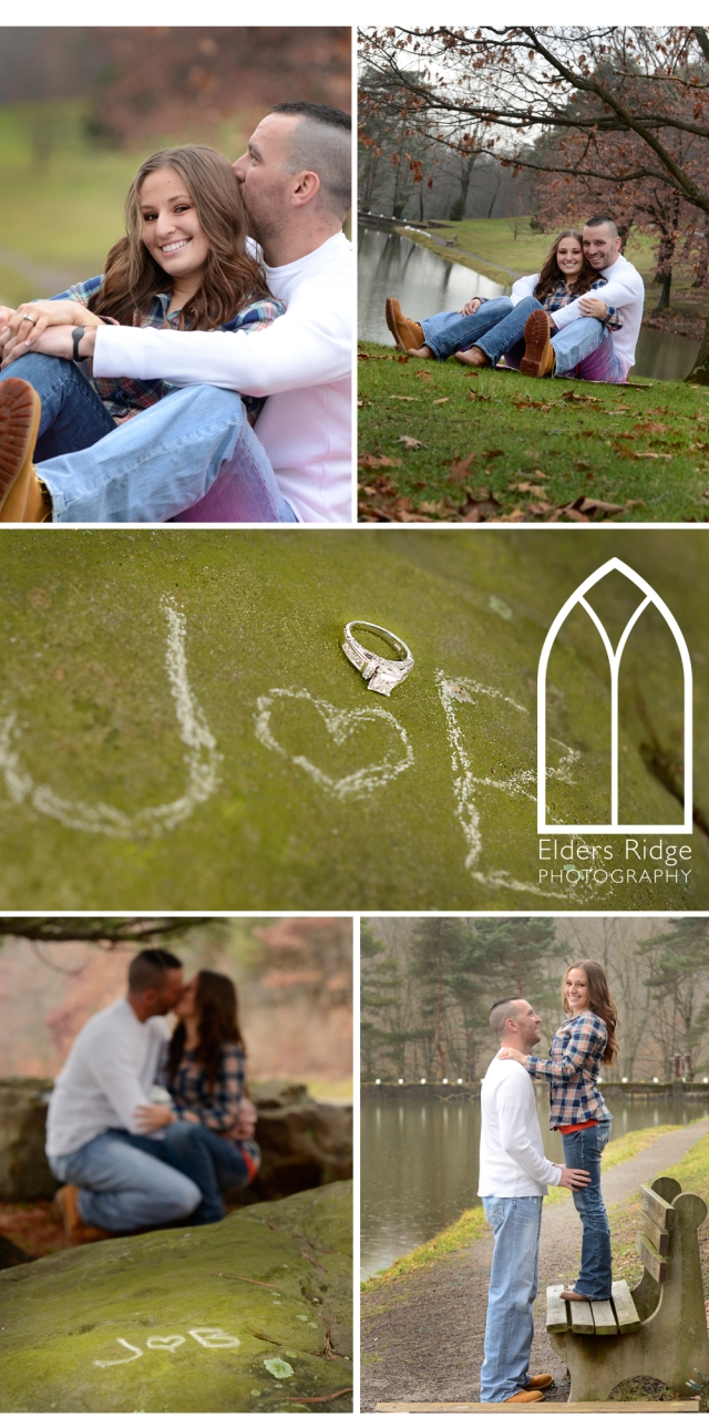 jb 3 engagement portraits