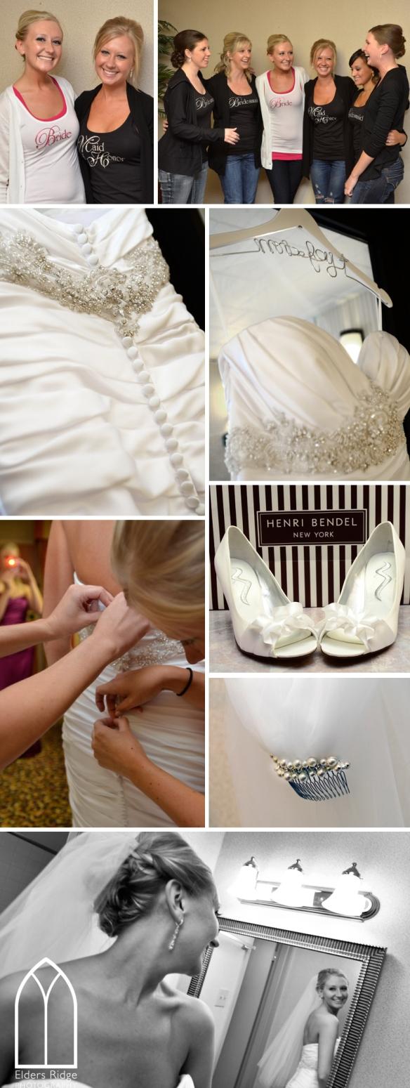 H bride getting ready 1