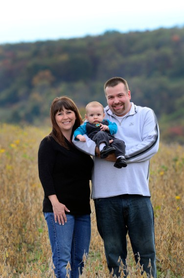 fall family portraits Elders Ridge
