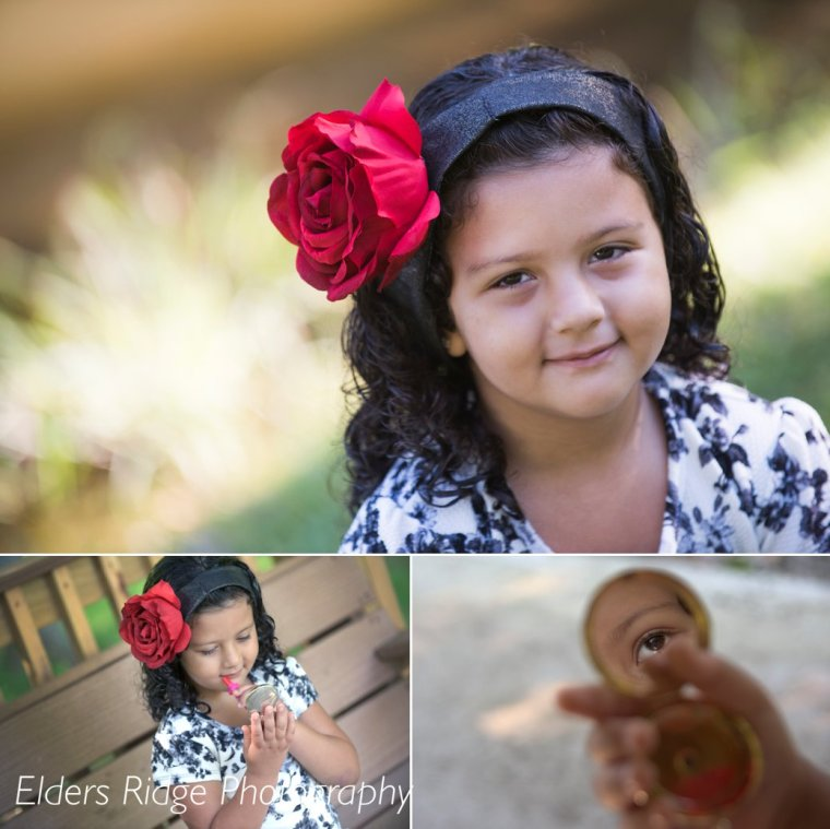 children portraits at hopewell township community park