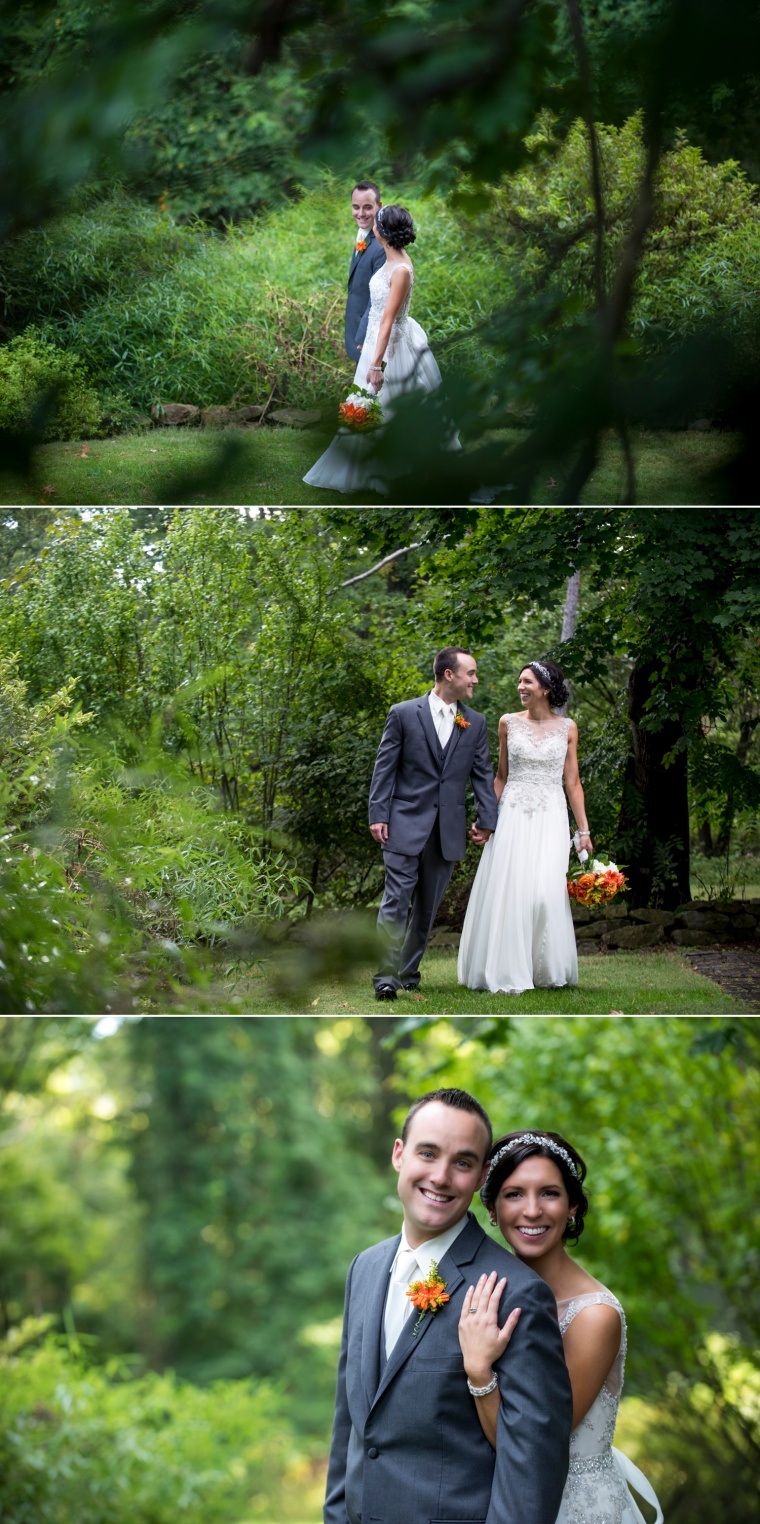Springwood Conference Center wedding portraits