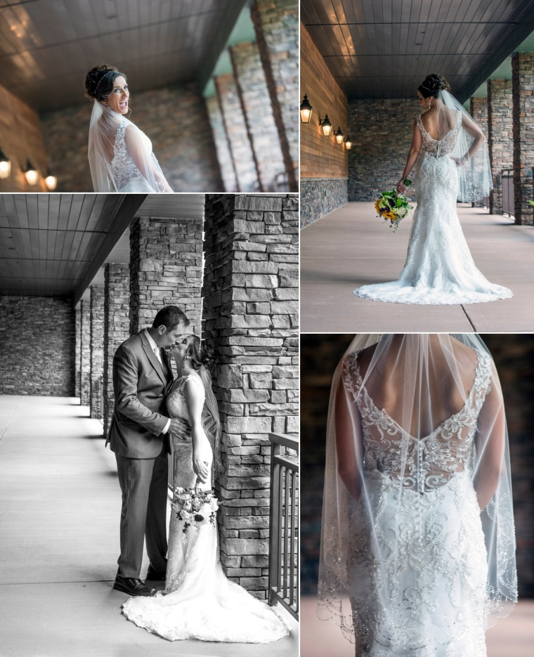 bridal portraits at Lake Raystown Resort Conference Center