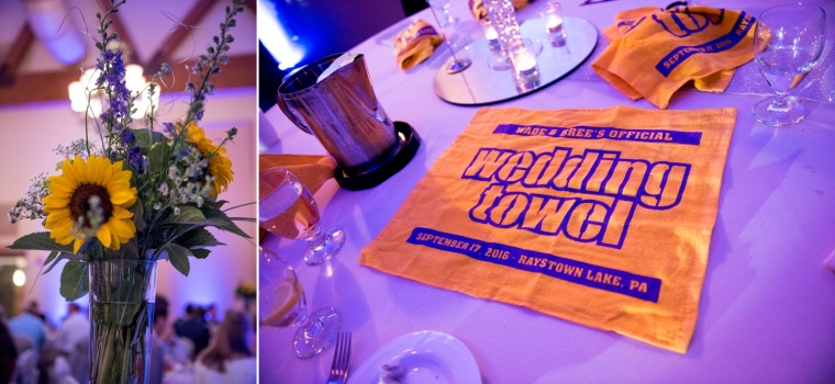 terrible towel wedding towel
